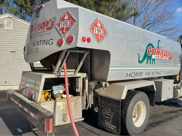 Heating Oil payment options by Conroy's Oil Service in Saco, Maine